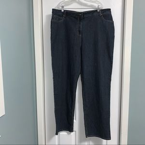 Penningtons Chicago at the waist Jeans with straight leg plus size 22